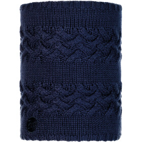 Buff Lifestyle Knitted and Polar Fleece Margo Nekwarmer, savva night blue